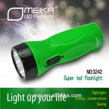 guangdong green led flashlight