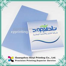 Wholesales Light Bule Blank Notepad Printing