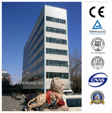 8-30 Floors Multi-level PLC Control Automated Mechanical Hydraulic Veritcal Rotary Smart Tower Parking System