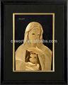 Hermosa oro de jesús de papel de marco de oro islámico papel de muestra a dios india 3d hoja dorado colección del amante