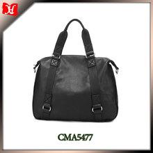 2014 long handle shoulder bag genuine leather shoulder strap book bag