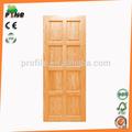 principal de entrada de madera maciza puerta frontal