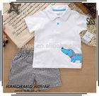 New 2014 summer clothing set newborn baby boy clothes
