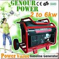 2014 uso en el hogar! Potencia el valor zh3500jd 2.5 60hz kw generador de luz