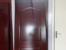 New style melamine pvc door skin for kitchen cabinet door