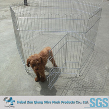 electro galvanized chain link dog cage
