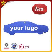 promotional logo printable custom paper car air freshener car