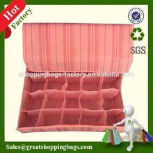 fancy gift stool foldable soft storage box