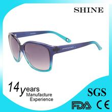 Handmade custom neon cat eye sunglasses made in italy wholesale