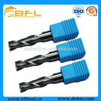 2 Flute Aluminum Carbide Flat Milling Cutter