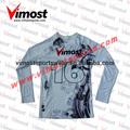 Sublimada men's vôlei uniforme/personalizado vôlei jersey