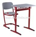 أطفال المدارس ومكتب الرئيسالخشب دراسة واحدة طاولة وكرسي المدرسة