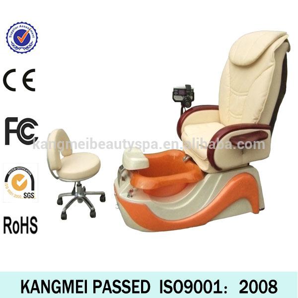 Vibrating sex equipment/massage foot spa chair/sex salon pedicure spa chair KM-S123-12