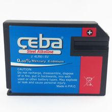 Shen Zhen electronic super 4LR61 Alkaline Battery Size J 6V Dry Battery