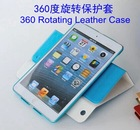 For apple ipad case wholesale 360 Rotating Leather Style For pad 2 3 4 mini air case high quality