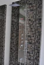 Art Beads Blasting surface treatment shower panel F7008