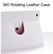 360 degree rotating case for ipad mini 1 2 ultra-thin smart cover case