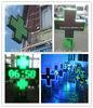 2015 new products led flashing p10 led pharmacy cross display