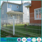 Residential Community Welded Metal PVC Coated Curve Garden Fence