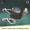 Freeze fat reduce equipment, 3 interchangeable cryo handles