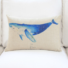 The Newest Textile Ocean Animal Picture Memory Foam Pillows
