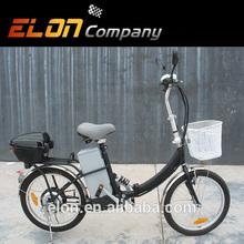 """buy 20"""" cheap lightweight mini folding ebike with 8 fun 250W motor for kids (E-TDE06DX)"""