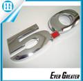 Personalizado 3m t de plástico abs cromado plateado plata emblemas chrome 5.0 emblemas de coches