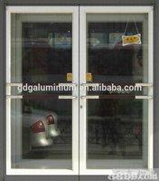 aluminium & glass shopfronts spring door commercial used door