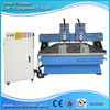 2 Heads 2 Rotary Axis Flat Cylinder Engraving Machine CNC Router DSP A18 4 Axis System ZK-1325
