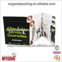 High quality sample leaflet