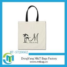 European Market high quality 100% cotton canvas tote bags