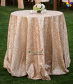 Fábrica al por mayor de lentejuelas de fantasía bordados corredor de la tabla, mesa de tela para la decoración de la boda.
