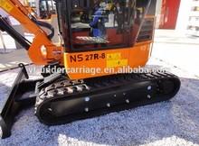 Mini Excavator Rubber Track for Komatsu, Ihi, Bobcat, Terex, John Deere, Kubota, Yanmar, Takeuchi