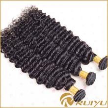 Brazilian hair weave, deep wave hairstyles for black women