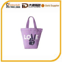 Women Tote Bag Purple Shopping Bag Women Hand Bag