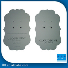 promotional paper hangtags&earring cards&earring hang tags