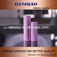 Cendao batteria ad alta energia 18.500 1600 mAh 1700 3.7v mah agli ioni di litio cellule 18500 batteria al litio ricaricabile
