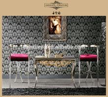 Model high leg chair,golden foil stool Bar stool B15