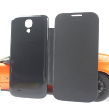 Classic official Battery Housing hard PC Back Cover Original Flip Leather Case For Samsung Galaxy s4 i9500 with logo