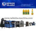 Garrafa PET chá de frutas linha de produção / suco planta de enchimento / quente da bebida linha de produção