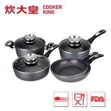 2015 Aluminum kitchen cookware sets