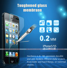 9H 0.33 and 0.4mm thickness round corner tempered glass Screen Protector Cover Guard Shield for cell phone all size