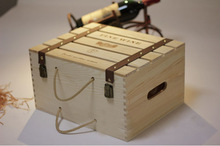 cheap wooden wine crates for sale