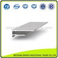 china top perfil de alumínio fabricantes de perfis de alumínio para a folha do policarbonato