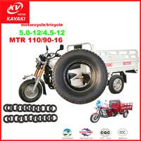 Wholesale Three wheel Motorcycle tricycle Tyres 5.0/4.5-12 8PR tricycle tires