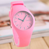newest silicone slap watch ss.com waterproof bracelet silicone watches