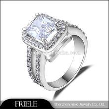 2015 Latest Designs Fashion custom engraved Silver Wedding Rings for Unisex