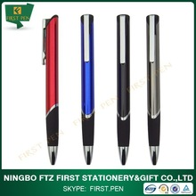 FIRST A242 Advertising Metal Triangular Ball Pen With Logo Engraved