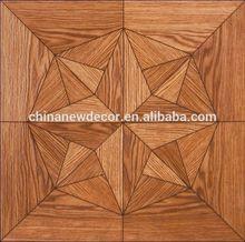 Decoration waterproof parquet laminate flooring 12mm