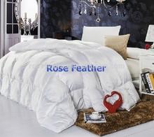 King Size White Goose Feather & Down Four Seasons Duvet